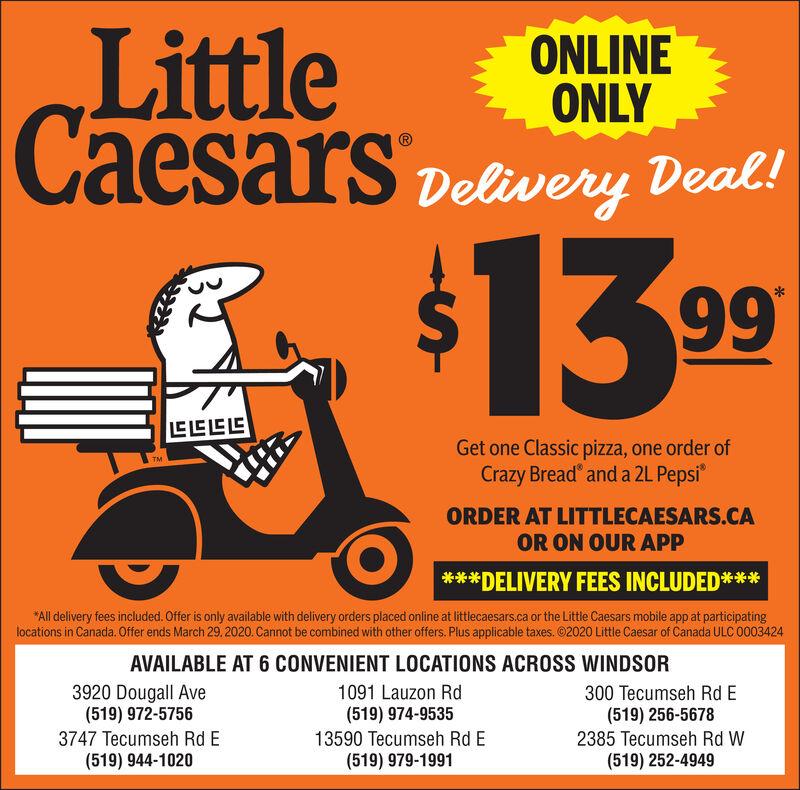 Little Caesars Windsor