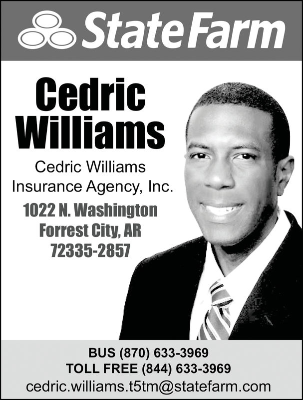 THURSDAY, FEBRUARY 21, 2019 Ad - Cedric Williams Insurance ...